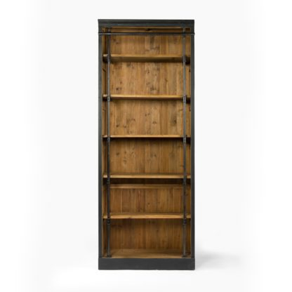 four hands ivy bookcase black 4