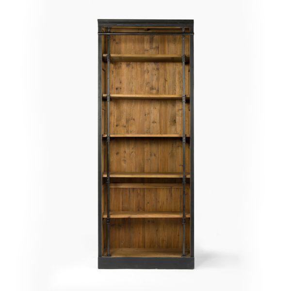 four hands ivy bookcase black 4