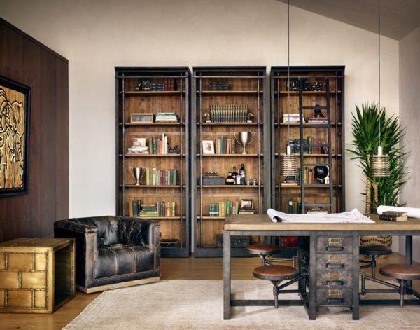 four hands ivy bookcase black 6
