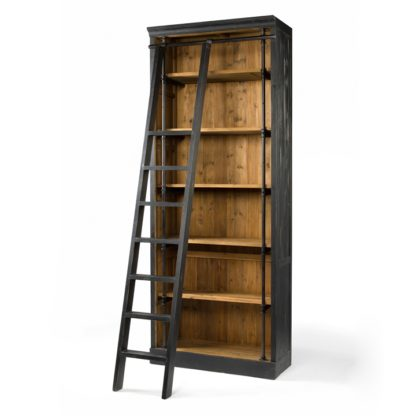 four hands ivy bookcase black 7