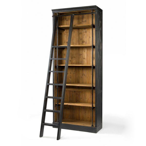 four hands ivy bookcase black 7