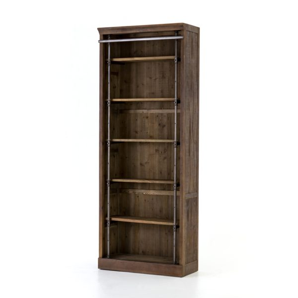 four hands ivy bookcase umber