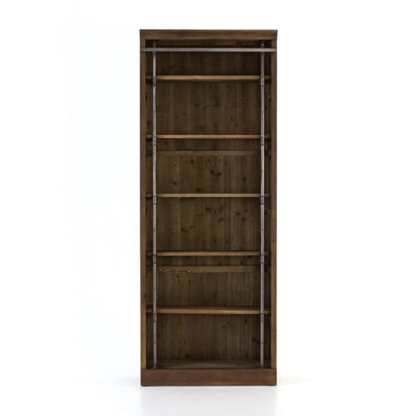 four hands ivy bookcase umber 4