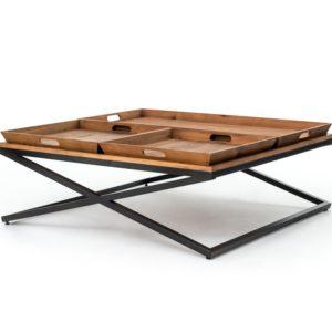 four hands jax coffee table