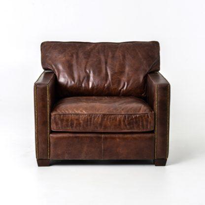 four hands larkin club chair cigar 3