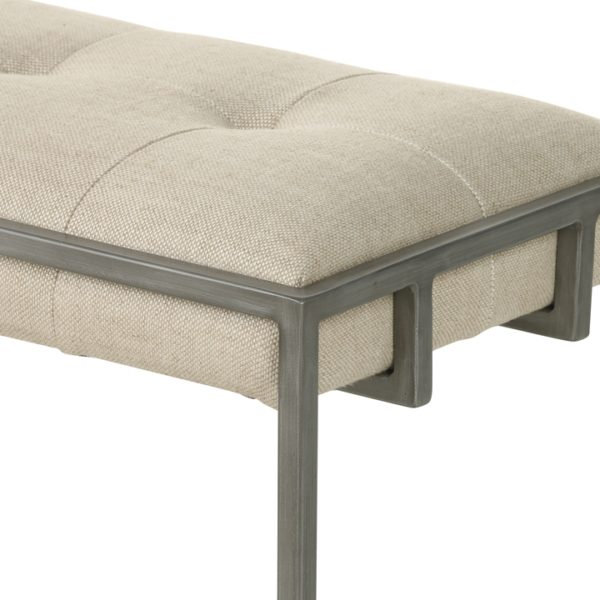four hands oxford bench sand 2