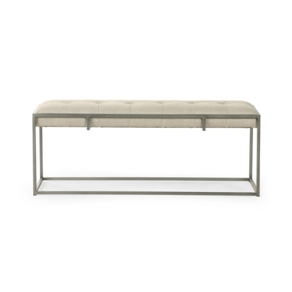 four hands oxford bench sand 3