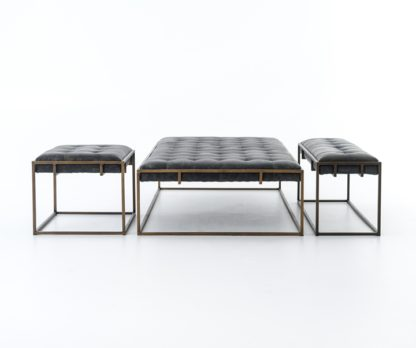 four hands oxford coffee table ebony 5
