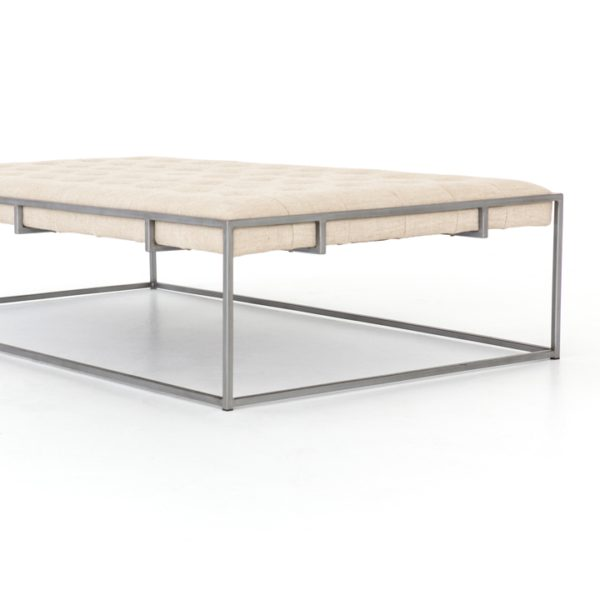 four hands oxford coffee table sand 2