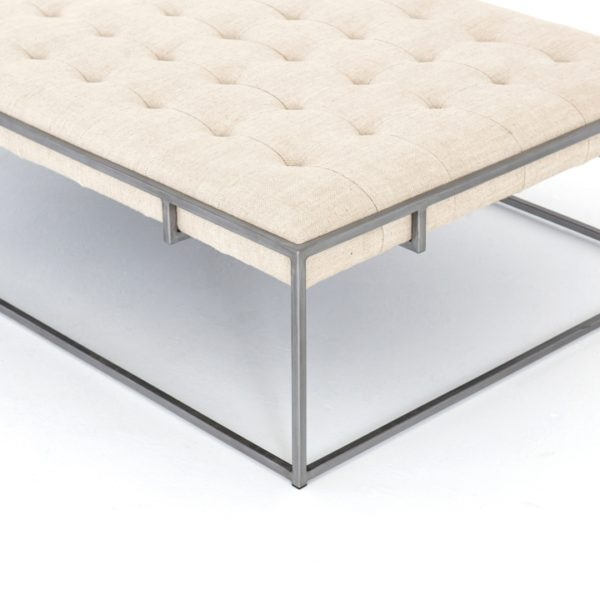four hands oxford coffee table sand 6