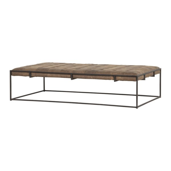 four hands oxford coffee table umber