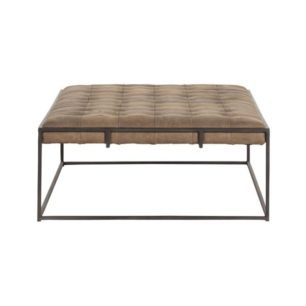 four hands oxford coffee table umber 3