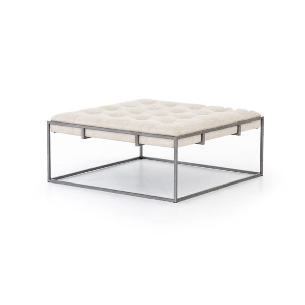 four hands oxford coffee table sand