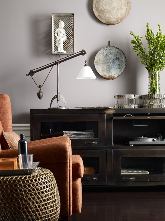 four hands rockwell media console 2
