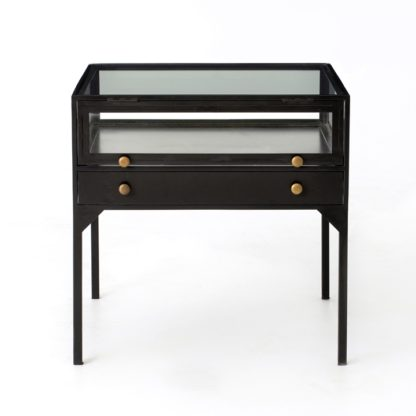 four hands shadow box end table 4