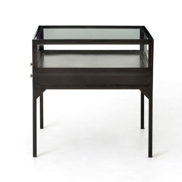 four hands shadow box end table 5