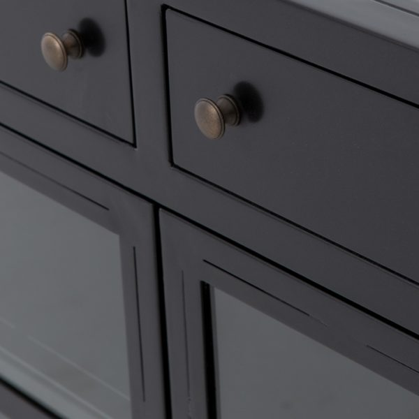 four hands shadow box media console 3