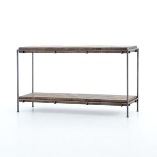 four hands simien media console