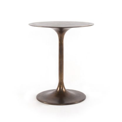 four hands tulip side table rust