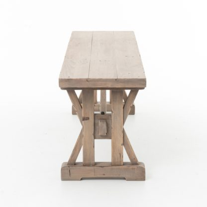 four hands tuscan dining bench 4