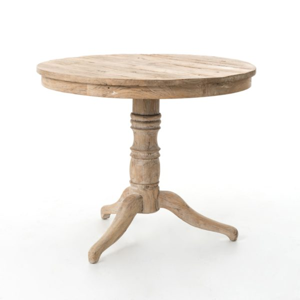 four hands whitewash table