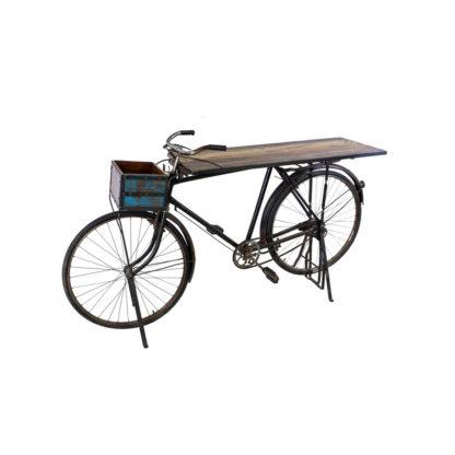 vintage bike bar table