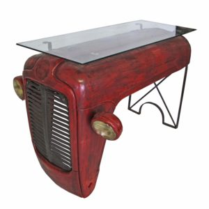 Vintage Tractor Front Bar Table