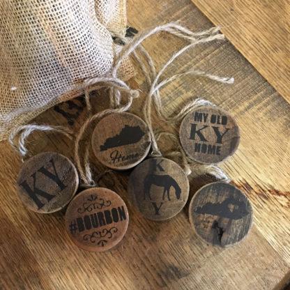 Barrel Bung Ornaments (Set of 6)