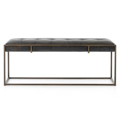 four hands oxford bench ebony 4