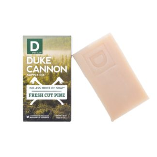 duke cannon big bar of soap fresh cut pine