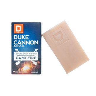 duke cannon brick of soap campfire