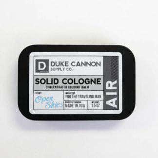 duke cannon solid cologne air
