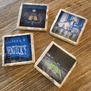 big blue nation drink coasters