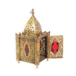 Vintage Moroccan Riad Lantern