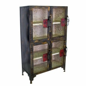 Line Worker's Locker Cabinet, Small