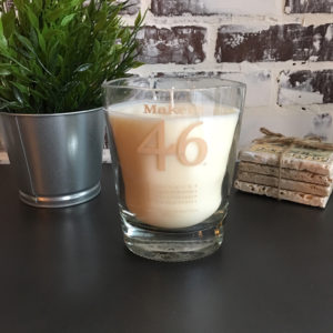 makers 46 whiskey candle