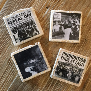 prohibition coasters