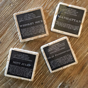 recipe drink coasters