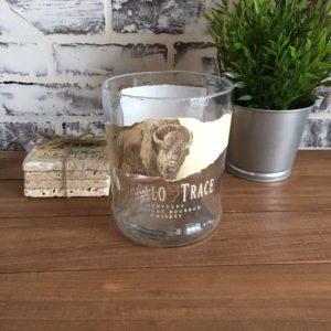 buffalo trace empty cut bottle