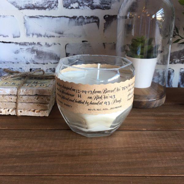 blanton's bourbon candle