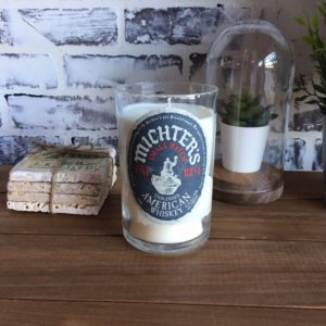 Michter's Unblended Small Batch candle