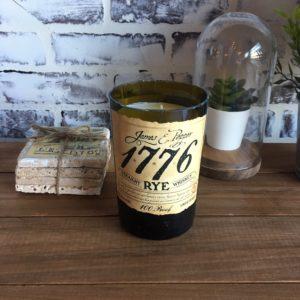 James E. Pepper 1776 Rye bourbon candle
