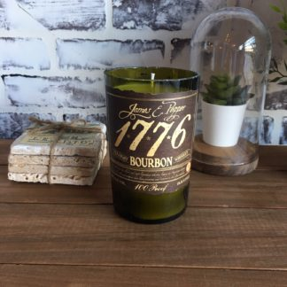 James E. Pepper 1776 Bourbon candle