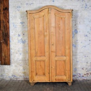 Vintage Arched Wooden Cabinet