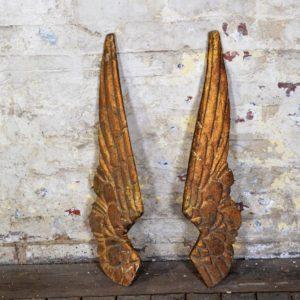 Wooden Angel Wings
