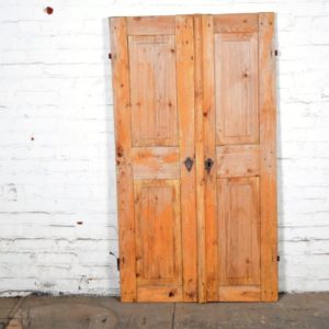 Vintage Paneled Wood Doors