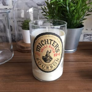 Recycled Michter's Small Batch Bourbon Candle
