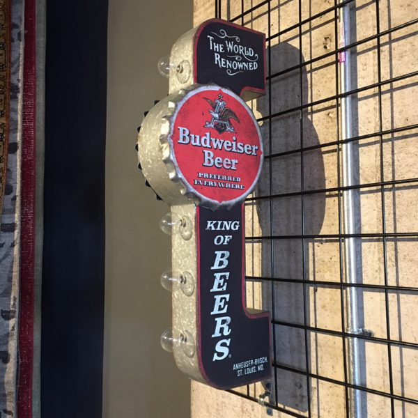 Budweiser Reproduction Vintage Advertising Sign