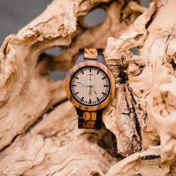 All Natural Wood Watch - Aspen