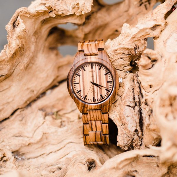 All Natural Wood Watch - Palermo